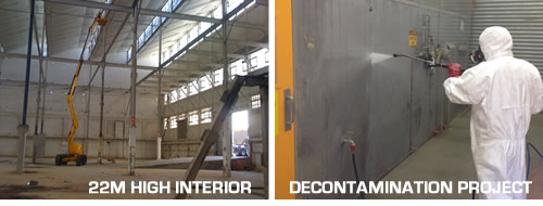 Factory Cleaning Warehouse Cleaning High Pressure